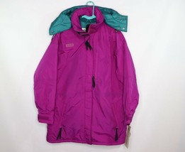 Vintage 90s New Columbia Womens Large Bristol Bay Parka Winter Jacket Co... - $134.59