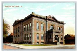 Vintage 1910's Postcard City Hall Building The Dalles Oregon - $12.84