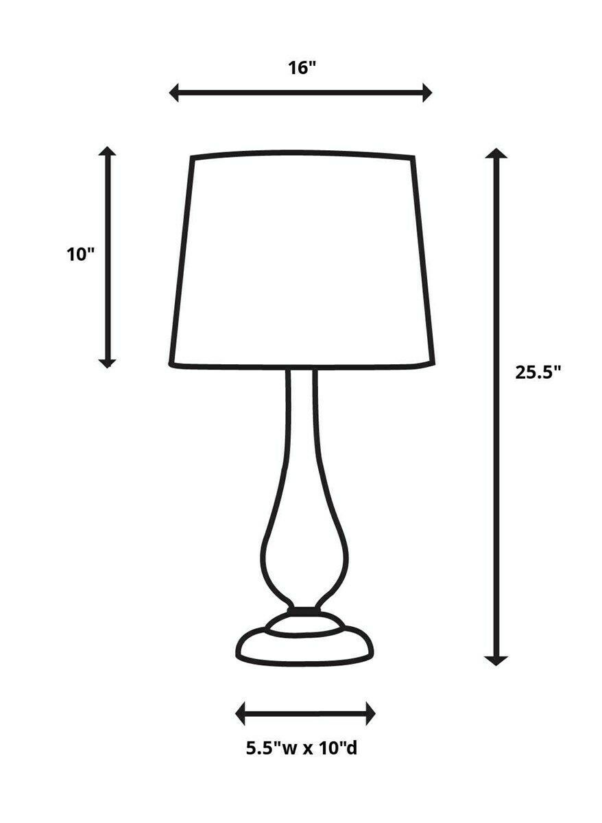 """MODICA MODERN 26"""" TEXTURED OVAL CERAMIC TABLE LAMP BRUSHED NICKEL CRYSTAL BASE"""