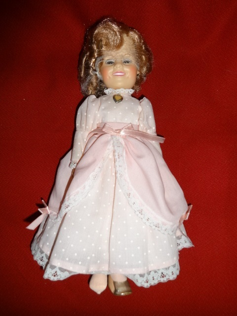 Primary image for Ideal SHIRLEY TEMPLE DOLL The Little Colonel 1982 + RECORD ALBUM Little Miss