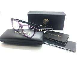 181224bb08be VERSACE Light  amp  Dark Violet  amp  Gold VE MOD 3225 5029 52MM Eyeglasses  -