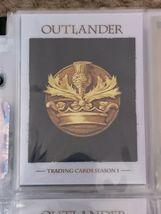Outlander Season 1 Binder Wardrobe M37 B1 Promo Chase Base image 4