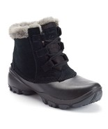 COLUMBIA SIERRA SUMMETTE SHORTY WOMEN'S BLACK WATERPROOF BOOTS, #BL1607-010 - $67.99