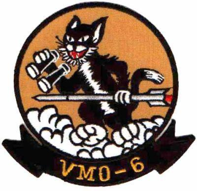 Primary image for USMC VMO-6 Marine Observation Squadron Patch