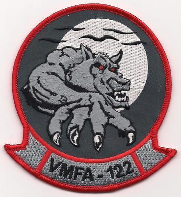 Primary image for USMC VMFA-122 Fighter Attack Squadron Werewolves Patch