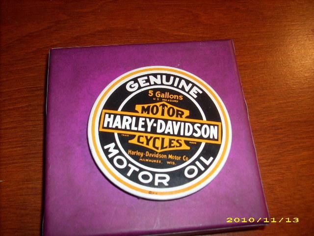 Genuine HARLEY DAVIDSON Keychain and Magnetic Logo Bonanza
