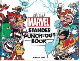 LITTLE MARVEL STANDEE PUNCH-OUT BOOK TP - $28.74