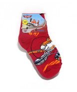 Disney Pixar Planes Boys Ankle Socks Red Infant Toddler Sock Sz. 4.5-5 - $5.99