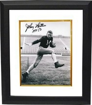 Johnny Lattner signed Notre Dame 8x10 Photo HT53 Custom Framed - $79.00