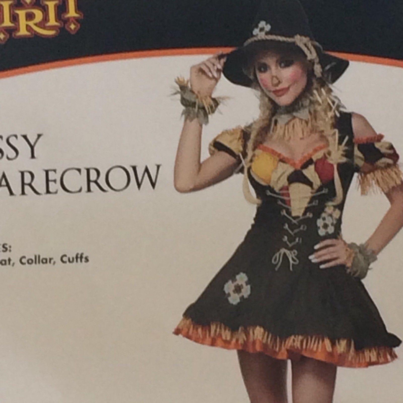 Sassy Scarecrow Women Adult Costume