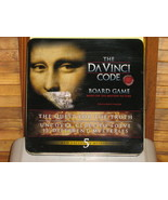 The DaVinci Code Board Game, Unused in Tin Box, Based on Motion Picture ... - ₨640.35 INR