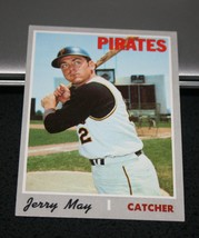 1970 Topps Baseball Card #423 Jerry May - $3.95