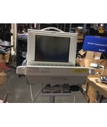 Philips M1204A Vital Monitor w/Agilent M1041A Module Rack and Stand - $648.80