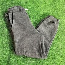 Zara Kids Elastic waist Drawstring Pocket Heather grey jogger Pant Size ... - $7.92