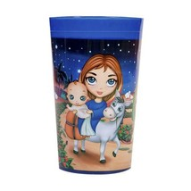 Christ is Born Plastic Kids Tumbler Cup NEW BPA-Free Durable Training Ch... - $8.00