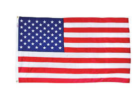 3x5 FT VALLEY FORGE US NYLON AMERICAN FLAG Sewn Stripes Embroidered Star... - $26.51