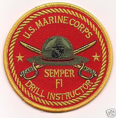 Primary image for USMC Drill Instructor Semper Fi Patch