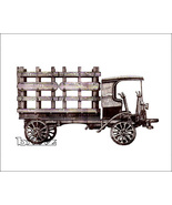 OnTrak HO 5105 - 1909 Autocar Stake Bed Truck - KIT - $28.50