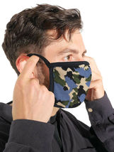 Men's Reusable Camo Face Covers Cloth Protection Masks Made In The USA Lot of 6 image 6