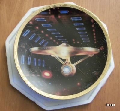 Enterprise 1701a plate