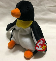 TY BEANIE BABY WADDLE BIRTH DATE 12/19/1995, P.V.C. STYLE 4075 - NEW OLD... - $9.99