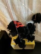 Vintage PelhamPuppets BLACK POODLE A4 Puppet/Marionette ORIGINAL BOX - $39.60