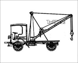 OnTrak HO 5147 - 1909 Autocar Tow Truck - KIT - $39.50