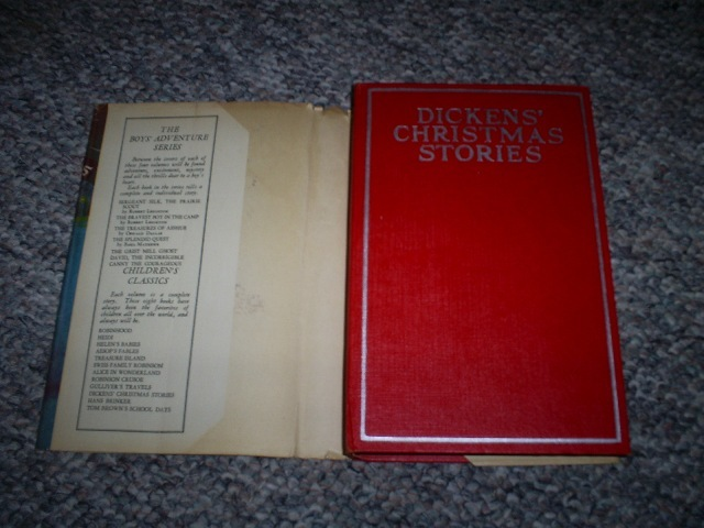 Dicken's Christmas Stories, by Charles Dickens  Hardcover wi