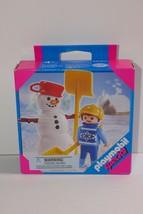 Playmobil Child with Snowman Special #4680 SEALED - $17.09