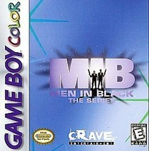 Men in Black: The Series (Nintendo Game Boy Color, 1998) - $1.97