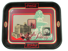 Coca-Cola Commemorative Tray Memphis Peabody Hotel Grand Reopening 1981 - $20.79