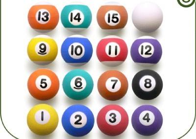 """16 Pool Billiard 1"""" Super Balls Bouncing Superballs New"""