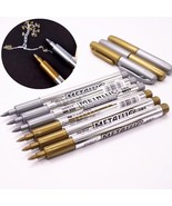 Metal Waterproof Permanent Paint Marker Pens Sharpie Student Supplies Ma... - $2.99