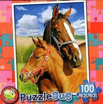 Mare and Foal - PuzzleBug - 100 Piece Jigsaw Puzzle - $7.13