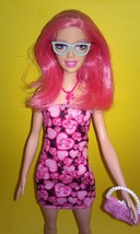 Barbie Doll Pink Hair Tall Fashionistas  - $11.99