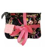 Vera Bradley Cosmetic Bag Trio Pink Ribbons NWT - $33.87