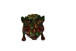 Brass Dragon Face Statue - Box - $13.00