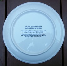 Millard Fillmore House (East Aurora, NY) Commemorative Plate image 2