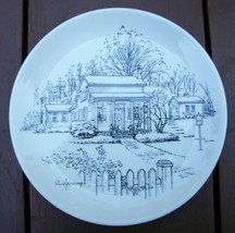 Millard Fillmore House (East Aurora, NY) Commemorative Plate image 1