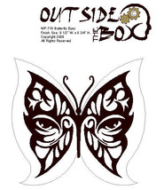Butterflyeyes Scroll Saw pattern by OTB Patterns - $2.94