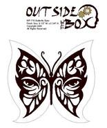 Butterflyeyes Scroll Saw pattern by OTB Patterns - $2.94