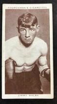 1938 WA & AC Churchman #37 Jimmy Walsh Boxing Personalities  (B) - $2.92