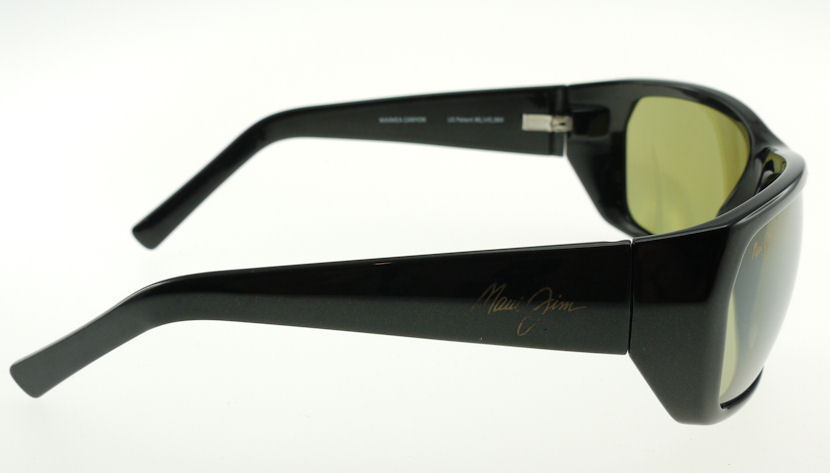 MAUI JIM WAIMEA CANYON BLACK GOLD / MAUI HT POLARIZED SUNGLASSES 265-02E