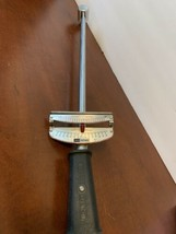 "Vintage Craftsman 1/2"" Drive Torque Wrench 44642 USA Foot Pounds Newton Meters - $26.90"