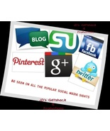 I'll Promote 6 items for 6 months Social Media Outlets - $110.00