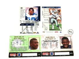 Michael Irvin #88 WR Dallas Cowboys Football Trading Cards AA-191703 image 3