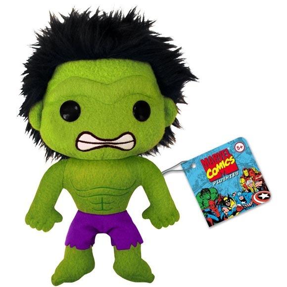 Marvel Comics: Classic Hulk (Purple Pants) 7 Inch Tall Plushies Brand NEW! - $23.99