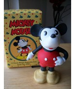 Disney Mickey Mouse Reproduction Bisque Porcelain Figurine  - $60.00