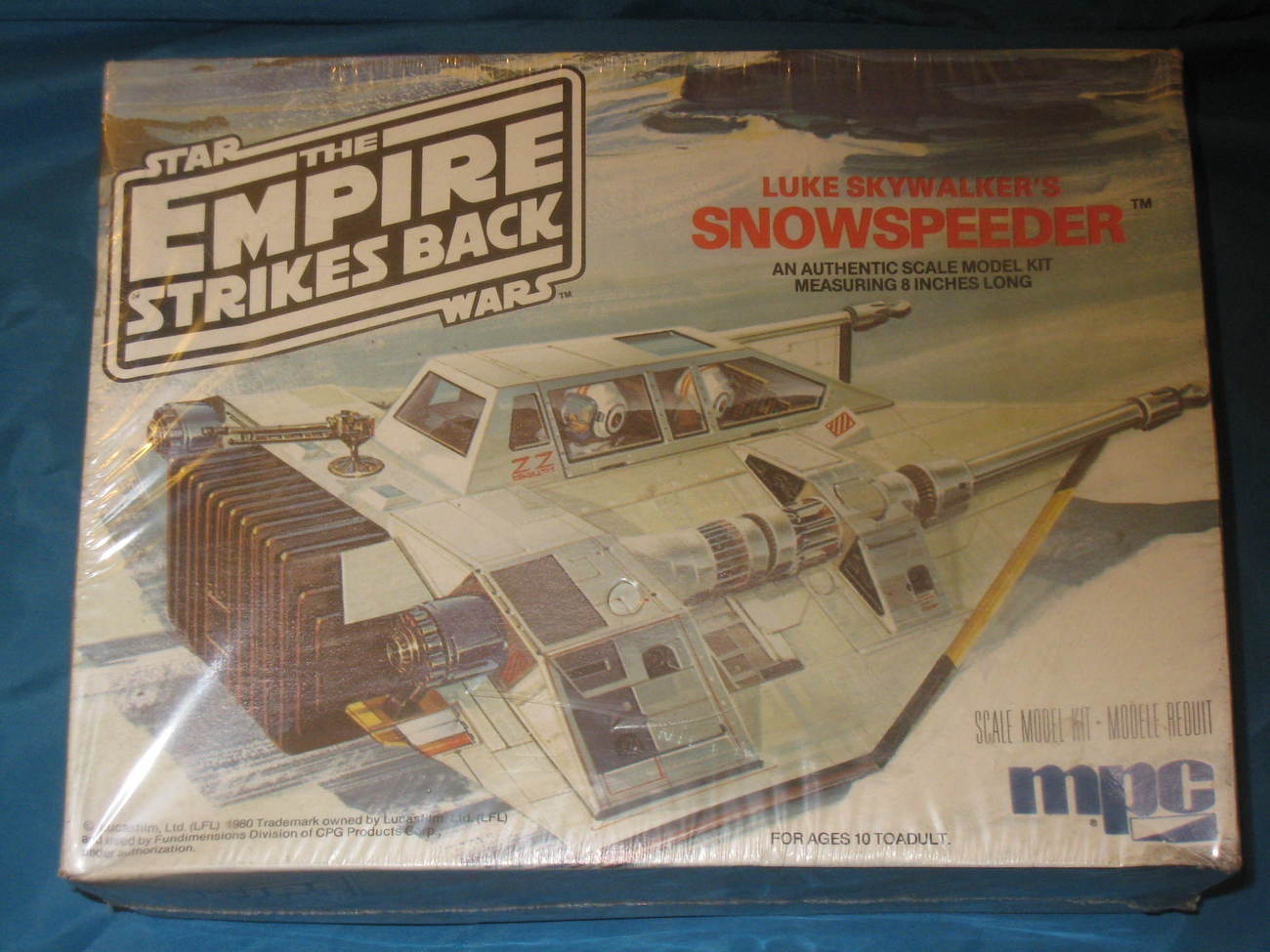 Primary image for Star Wars Empire Strikes Back Snow Speeder, by MPC, 1980. New