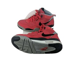 Nike Air Flight 2013 Red Black Gray Womens US 8 EUR 38.5 Youth 6 (580493... - $20.20